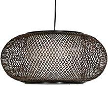 """8"""" Walnut Kata Japanese Ceiling Lantern :: Hanging Ceiling Lamps"""