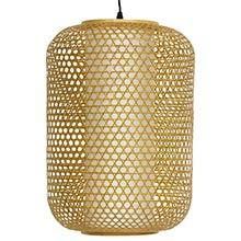 """20"""" Taka Japanese Bamboo Hanging Lantern :: Hanging Ceiling Lamps"""
