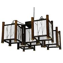 Watashi Japanese Hanging Lantern :: Hanging Ceiling Lamps