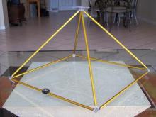 Tabletop Healing Pyramid