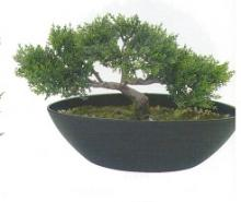 9 Inch Bird Cedar Bonsai :: Artificial Bonsai Trees