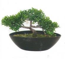 9 Inch Bird Mini Tea Leaf :: Artificial Bonsai Trees