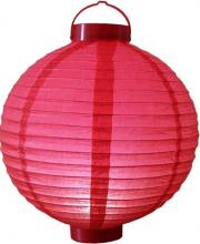 "12"" Glowing Red Lantern ::"