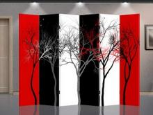 Double Sided Abstract Trees Divider