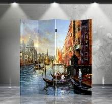 Double Sided Venice Divider :: Folding Room Dividers