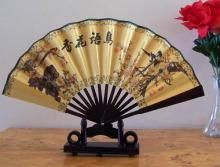 Bird Bookends Table Fan :: Small Display Fans