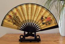 Flower Bookends Table Fan :: Small Display Fans