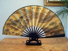 Japanese Market Bridge :: Table Display Fans