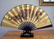 Five Jungle Princes :: Table Display Fans