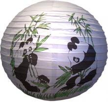 Panda Lantern :: Chinese Lanterns