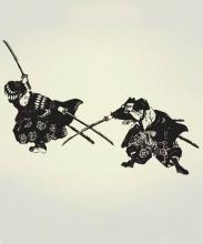 Deulers Wall Decal :: Asian Art Wall Stickers