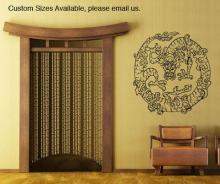 Dragon Medallion Wall Decal :: Asian Art Wall Stickers
