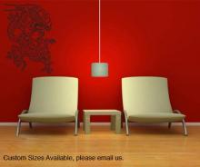 Smoke Dragon Wall Decal :: Asian Art Wall Stickers