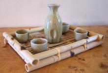 5 Piece Contemporary Style Sake Set :: Sake Sets