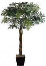 8 foot Areca Palm Bushy-Top Artificial Tree :: Artificial House Plants