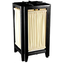 Helsinki Lamp (Black Finish) :: Chinese Lamps