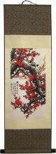 Hooked Sakura :: Chinese Print Scrolls