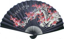 Black Sakura with Black Bamboo ::