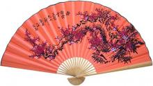 Peach Sakura :: Asian Wall Fans