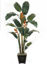 8 foot Silk Heliconia Plant :: Artificial House Plants