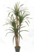4 foot Silk Yucca Plant with 4 heads :: Artificial House Plants