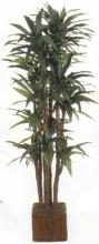7.5 foot Silk Yucca Plant with 214 leaves :: Artificial House Plants