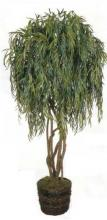 8 foot Silk Weeping Willow Tree :: Artificial House Plants
