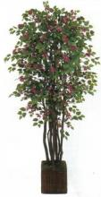 9 foot Silk Bougainvillea Tree :: Artificial House Plants