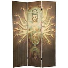 1000 Arm Kwan Yin Shoji Screen :: Double Sided Shoji Screens