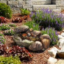 Cascading Stone Fountain :: Indoor Water Fountains