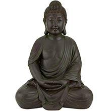 """27.5"""" Serene Buddha Statue :: Buddha Decor"""