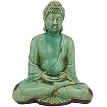 "10"" Japanese Sitting Buddha Statue :: Buddha Decor"