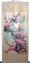 "Giant 63"" Dream Sakura Chinese Print Scroll :: Chinese Print Scrolls"