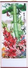 Colorful Flora Chinese Scroll :: Chinese Scrolls