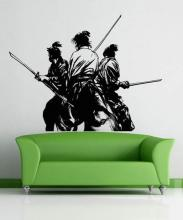 Last Stand Wall Decal :: Asian Art Wall Stickers