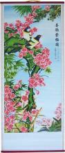 Summer Birds Chinese Scroll :: Chinese Scrolls