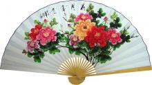 Vibrant Bouquet :: Asian Wall Fans