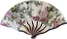 Elegant Floral Hand Fan :: Asian Hand Fans