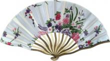 Stylish Floral Hand Fan :: Asian Hand Fans