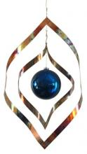 "11"" Double Diamond Wind Sculpture :: Wind Sculptures"