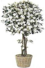 Silk Dogwood Tree :: Artificial House Plants