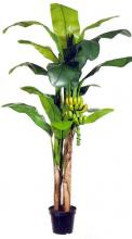 9 foot PLUS 7 foot Double Banana Tree :: Artificial House Plants