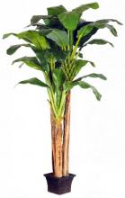 12 foot PLUS 9 foot PLUS 7 foot Triple Banana Tree :: Artificial House Plants