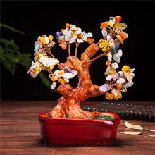 Stone Spring Money Tree :: Artificial Bonsai Trees