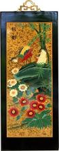 "23.5"" Chinese Robin :: Wall Carvings"