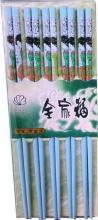 Blue Chopsticks with Japanese Girl Set of 5 :: Designer Chopsticks