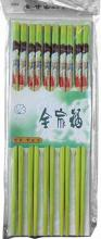 Green Chopsticks with Japanese Girl Set of 5 :: Designer Chopsticks