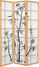 Canvas Bamboo Tree (Natural Finish) :: Japanese Shoji Screens