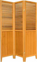 "Honey 70"" Tall Wooden Beadboard Screen :: Wooden Shutter Screens"