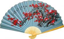 Winter Blossoms :: Asian Wall Fans